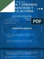 Oferta y Demanda_elasticidad y Aplicaciones