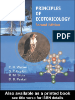 2001-Walker Et Al-Principles of Ecotoxicology