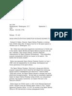 Official NASA Communication 93-160