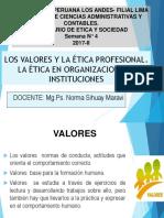 Valores y Etica Profesional