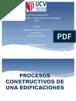 Procesos Constructivos de Edificaciones