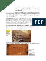 Arte en La Prehistoria- Culturas Agrafas- Paleolítico, y Otros.