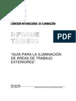 CIE129-1998-Guia Para La Iluminacion de Areas de Trabajos Exteriores