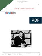 Cuento de Leónidas Barletta_ La Partida