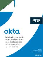 Building Secure Multifactor Authentication