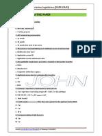 Module 10 Practice Paper