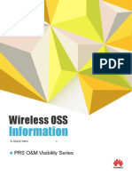 Wireless OSS Information - PRS O&M Visibility Series