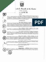 Directiva de Anulación de Registros