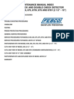 Febco DCD and DC 850 856 870 and 876