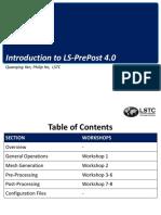 LS-PrePost Intro 2014