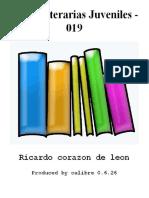 Joyas Literarias Juveniles - 019 - Ricardo Corazon de Leon