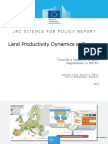Land-productivity Dynamics in Europe