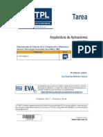 Arquitectura Aplicaciones - Tarea