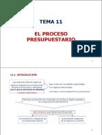 Tema 11 El Proceso Presupuestario (Autoguardado)