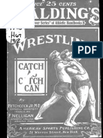Wrestling-catch as Catch Can Style 1912