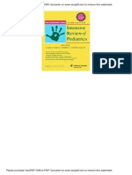 04.the Cleveland Clinic Intensive Review of Pediatrics 2nd Ed