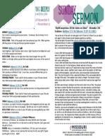 Growth Guide Week of November 6