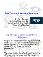 Pulp Therapy in Pediatric Dentistry Revised