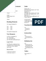 HTML Basic Document