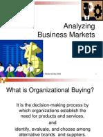 Analysing Business Market