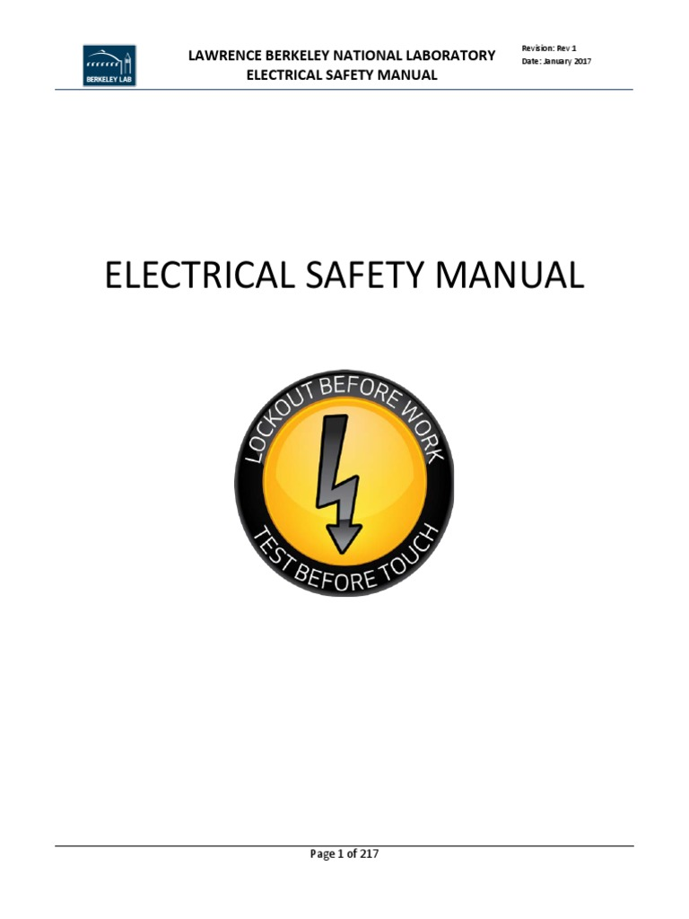 Electrical Safety Manual Lockout Test Electric Shock Personal Cal Spa 20 Amp 240 Volt High Current Gfci The Works Protective Equipment