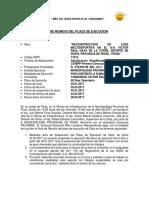 Acta de Reinicio Victor Raul