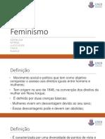 Feminismo - Uneb