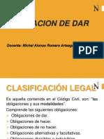 Obligaciones - Obligacion de Dar - Upn 2017 - II