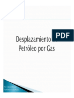 Desplazamiento Petroleo Por Gas