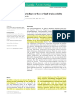 The EEG Signal a Window on the Cortical Brain Activity - Ped Anest 2012