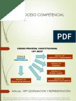 Proceso Competencial