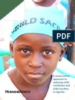 Eliminating Child Mutilation and Child Sacrifice in Uganda