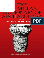 Ruth D. Whitehouse (Eds.)-The Macmillan Dictionary of Archaeology
