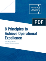 8 Principles to Achieve OpEx by Kevin Duggan