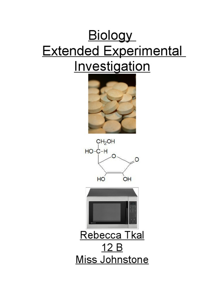 extended experimental investigation