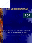 Las Voces Humanas