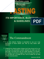 Fasting Rules