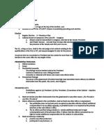 Poli Notes - Exec to end of Consti 1.docx