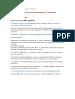 Actividades de La Sexta Semana Español 2
