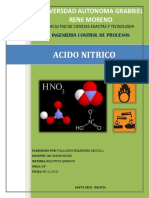 ACIDO NITRICO INFORME