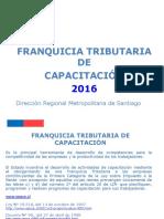 Uso de La Franquicia Tributaria 2016
