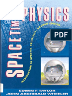 Spacetime Physics - Introduction to Special Relativity [Taylor-Wheeler]PDF