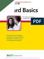 Coll.-board Basics 4-An Enhancement to MKSAP-ACP