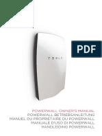 Powerwall 1 Owners Manual