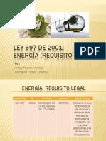 Requisito Legal - Energía - Ley 697 de 2001