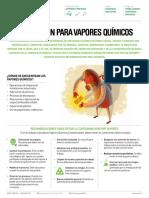 Prevencion Para Vapores Quimicos