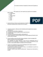 Cuestionario #1  y # 2 contestados logistica