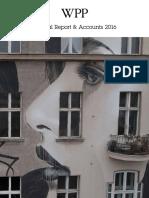 WPP AR 2016 Annual Report