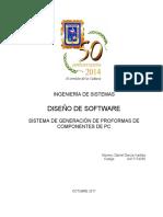 Desarrollo de Aplicaciones I - Daniel García