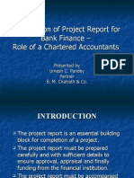 Preparation of Project Report for Bank Finance - Umesh Pandey